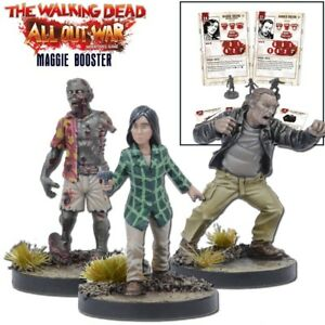 Mantic Games The Walking Dead All Out War Maggie Game Booster 5060469660738 Ebay