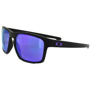 0397b9c2ef1 Image is loading Oakley-Sunglasses-Sliver-OO9262-10-Matt-Black-Violet-