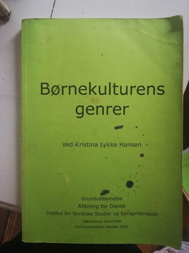 Kompendium Børnekulturens genrer, emne: kommunikation