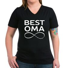 0a72b476 CafePress BEST OMA EVER T Shirt Women's V-Neck Dark T-Shirt (1678080932