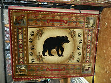 RED BEAR 8X10 RUG 4 THE HOME  ON SALE/HOLIDAY DECOR