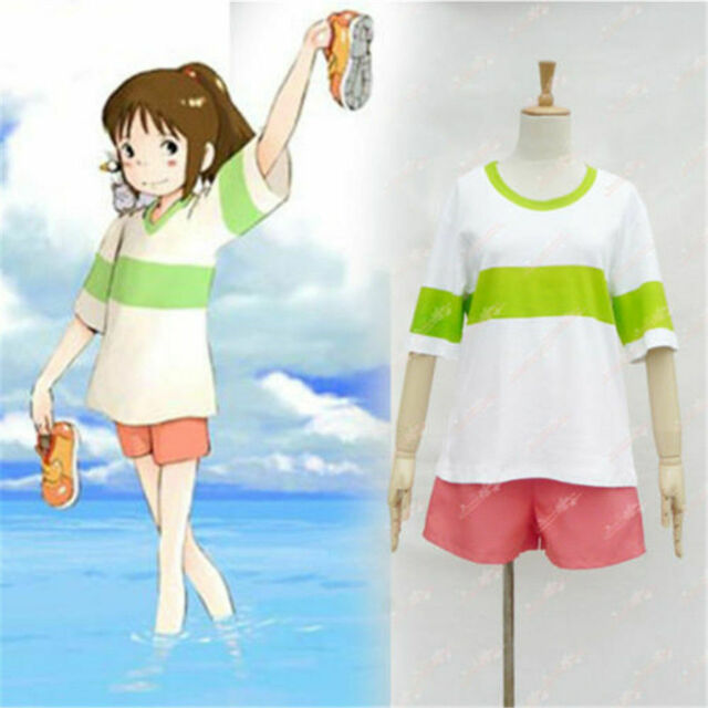Other Anime Collectibles Collectibles Other Anime Collectibles Halloween Spirited Away Ogino Chihiro Cosplay Costume Clothes Any Size Animation Art Characters Zsco Iq