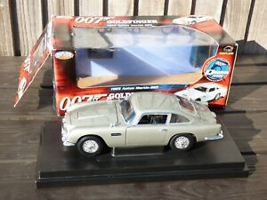 Aston-Martin-DB5-James-Bond-007-Joyride-Ertl-1-18-1965-coche-modelo-detallado-de-juguete
