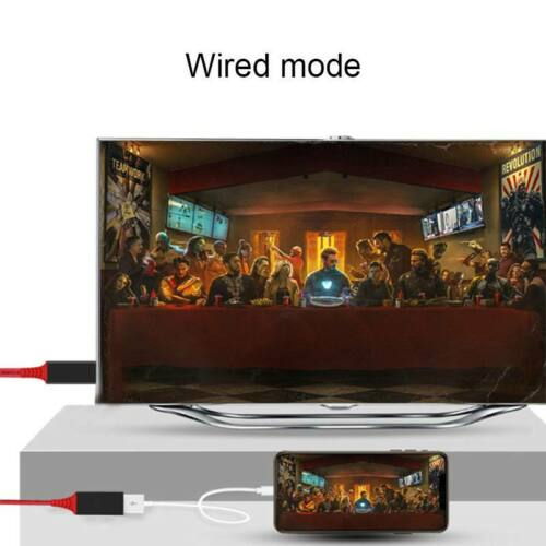 Wireless WiFi HDMI Cable HDTV Video Adapter for iPad iPhone Android Phone  to TV