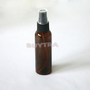 Plastic-Brown-60ml-Amber-Bach-Perfume-Remedy-Mixer-Bottle-With-Atomiser-Spray-R1