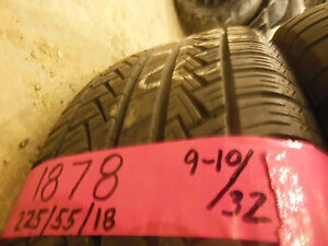 Used P225/55R18 225/55/18 225 55 18 97H 8/32nds Pirelli P6