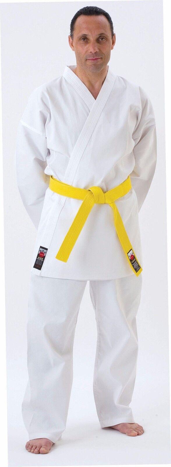 Enfants Blanc Kimono de Karaté Gi Uniforme Ceinture Ceinture Ceinture Gratuite 110 -150cm aaf991