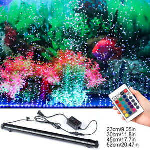 Aquarium-Fish-Tank-Light-Waterproof-LED-Lamp-Bubble-Pump-With-Remote-Control-HL