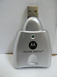 DRIVER FOR MOTOROLA SECURE DIGITAL SYN1114A