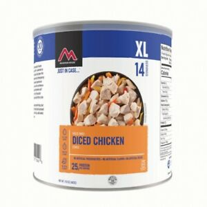 3 - Cans -- Diced Chicken - Mountain House Freeze Dried Food