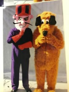 High Quality Image Is Loading Mans Dick Dastardly Muttley 80s Mascot Costume Fancy