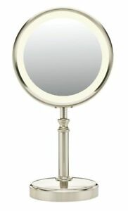Conair Double-Sided Fluorescent Lighted Makeup Mirror with ...