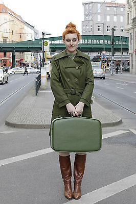 Liberale Veb Donna Costumi Berlino Kremmener Str 9-11 Cappotto Donna Coat Verde 70s True Vintage-mostra Il Titolo Originale