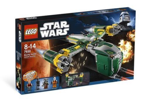 7930 cañonera de asalto de cazador de recompensas Estrella Wars Lego Nuevo Clon Sugi EMBO Aurra Sing