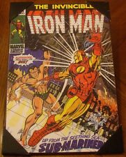 The Invincible Iron Man Marvel Comics Wood Wall Art 13'' x 19'' The Sub-Mariner