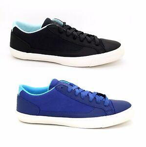 Mens Puma Alexander Mcqueen MCQ Rush Lo Trainers Black Blue Sneakers Shoes New