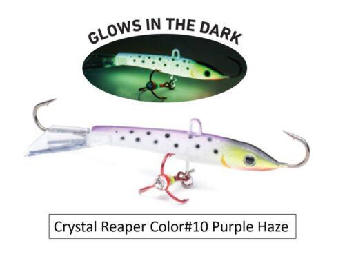 Vexan Crystal Reaper Jigging Minnow Walleye Bass Fishing Jig Bait Lure Crappie