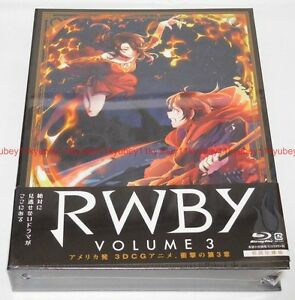 Nuevo-RWBY-Volumen-3-Primera-Edicion-Limitada-2-Blu-ray-2-CD-booklet-Japon-1000627047