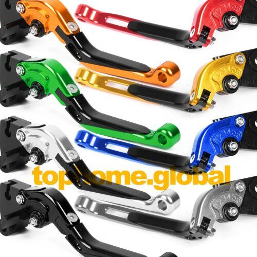 For Kawasaki ZX10R 2006-2015 Folding Extending Clutch Brake Lever CNC 2014 2013