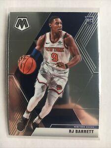 2019-20-Mosaic-Basketball-RJ-Barrett-Base-Rookie-229-New-York-Knicks