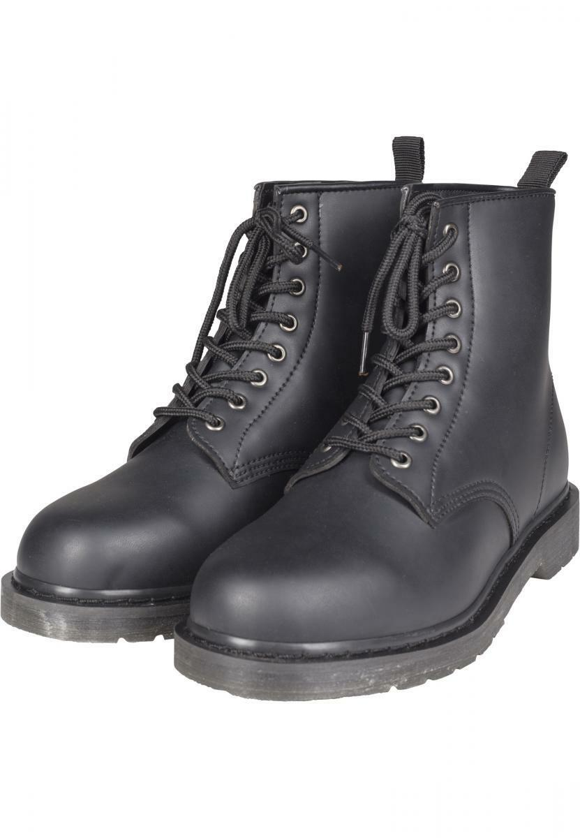 URBAN Classics Unisex Lace Boots Stivali Stivali Gothic Punk Ranger Stivali Boots Springer 642631
