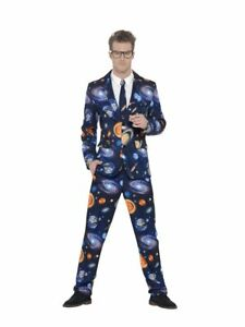 Smi Herren Kostum Anzug Weltall Karneval Fasching Party Ebay