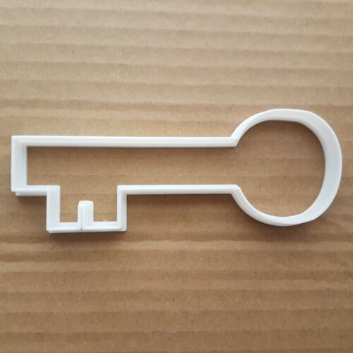 Key Lock Safe Pass Latch Opener Shape Cookie Cutter Dough Biscuit Pastry Stencil