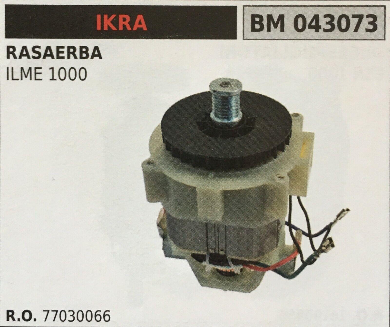 MOTORE ELETTRICO BRUMAR IKRA BM043073 RASAERBA ILME 1000
