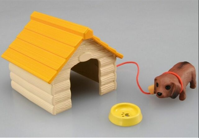 TAKARA TOMY Minimal ZOO Miniature Toy Dog House Fawn Walking Japan Kawaii Cute