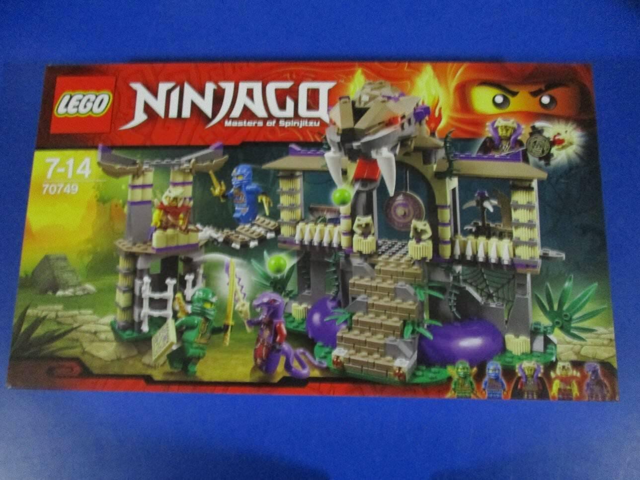 Lego Ninjago 70749 templo de la anacondrai nuevo embalaje original