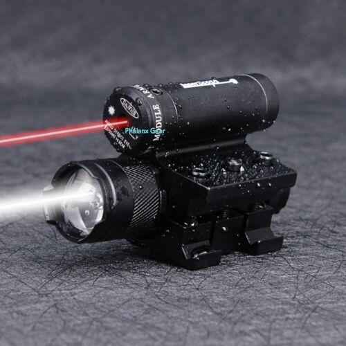 FUCILE Da Caccia Tattico Red Dot Mirino Laser con torcia torcia per gioco di guerra