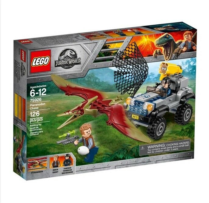 LEGO 75926 Jurassic World 2 Fallen Kingdom Pteranodon Chase  126 Pieces
