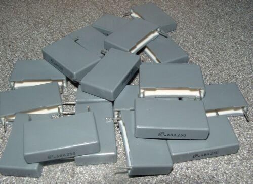 20 0.68 uf 680nf 250v poliéster Capacitor 22mm Arcotronics mkt-r60-in-3680-bm00k
