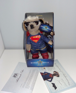 BNIB  COMPARE THE MEERKAT - SUPERMAN SERGEI  BOXED + CERTIFICATE   NEW