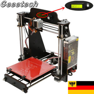 Geeetech PrusaI 3ProW USB Speicherkarte sicher Metall Dual Extruder 3D-Drucker