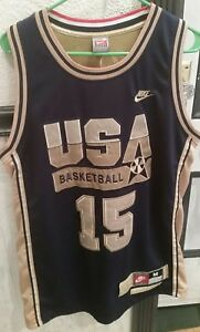 450203fd8cb2 Nike 1992 USA Olympics Dream Team Magic Johnson Jersey Mens Medium ...
