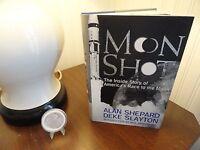 "Alan Shepard Signed-Book ""Moon Shot"" First-Edition Third-Printing Apollo-14 NASA"