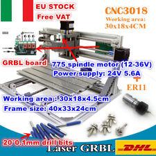 【IT】3 Axis 3018 DIY GRBL Control Mini CNC Laser Engraving Machine PCB Mill ER11