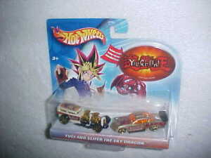 "HW YU-GI-OH ""YUGI AND SLIFER THE SKY DRAGON"" VHTF NEW DIECAST CARS"