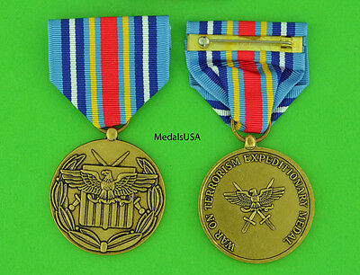 Made in USA Full Size Medal Navy Expeditionary