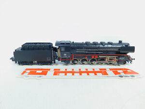 BZ230-1-Maerklin-Hamo-H0-DC-Guss-Dampflokomotive-44-690-DB-Rauch-gut