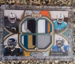 2015-Topps-Supreme-Football-Cooper-Parker-Yeldon-Abdullah-Quad-Jersey-Patch