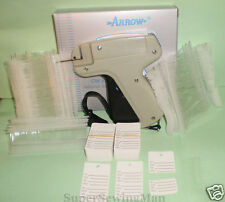 Garment Price Label Tagging Tag Gun With 2000 Barbs 100 Price Labels 2 Needles