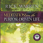 Meditations on the Purpose Driven Life by Rick Warren (Hardback, 2003)