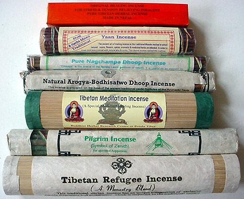 Healing Meditation Pilgram 7 INCENSE ~ Tibetan refugee
