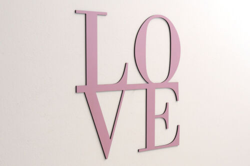 LOVE - Schriftzug Holz Deko Schrift Buchstaben Schriftzug Wand