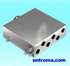 Tellerventil Zentrale Wohraumlüftung Rohbau DN125 Wärmetauscher KWl Lüftung