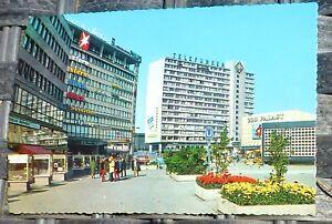 Radio-Tele-Maison-de-Zoo-Berlin-Carte-Postale-50er-60er-Annees-Kruger-921-42-A