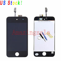 For iPod Touch 4 4th Gen LCD Touch Screen Replace Digitizer Glass Assembly +Tool