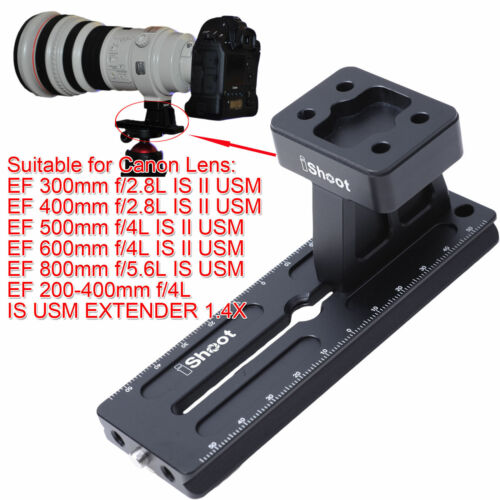 Tripod Mount Ring Base + Quick Release Plate for Canon EF 400mm f2.8L IS II USM